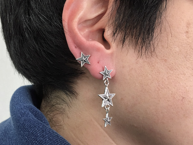 05-0026 3 Star Dangling Earring 100419.jpg