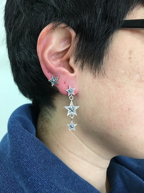 05-0026 3 Star Dangling Earring 2018-01-05 10.04.24.jpg